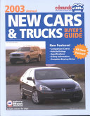 Edmunds com New Cars   Trucks Buyer s Guide 2003