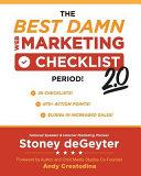 The Best Damn Web Marketing Checklist  Period  2 0