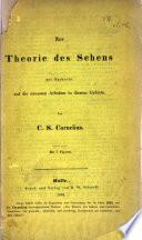 Zur Theorie des Sehens