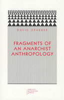 Fragments of an Anarchist Anthropology