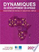Dynamiques Du D Veloppement En Afrique 2021 Transformation Digitale Et Qualit De L Emploi