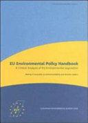 EU Environmental Policy Handbook