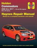 Hm Holden Commodore Ve Vf Petrol 2006 17