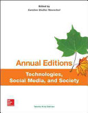Annual Editions  Technologies  Social Media  and Society  21 e