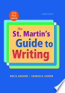 The St  Martin s Guide to Writing with 2016 MLA Update