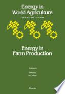 Energy in Farm Production