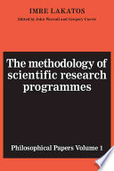 The Methodology of Scientific Research Programmes  Volume 1