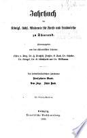 Jahrbuch der Königl. Sächs. Akademie für Forst- und Landwirthe zu Tharand