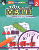 180 Days Of Reading Writing And Math For Second Grade 3 Book Set