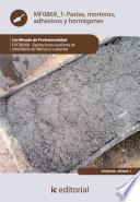 Pastas  morteros  adhesivos y hormigones  EOCB0208