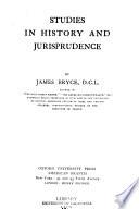 Studies in History and Jurisprudence
