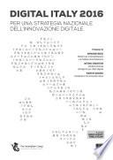 Digital Italy 2016. Per una strategia nazionale dell'innovazione digitale