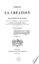 Tableau de la cr  ation ou Dieu manifest   par ses oeuvres
