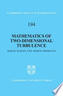 Mathematics of Two Dimensional Turbulence