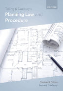 Telling   Duxbury s Planning Law and Procedure