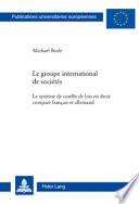 Le groupe international de sociétés