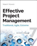 Effective Project Management : now fully updated now in its...