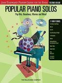 Popular Piano Solos   Second Grade