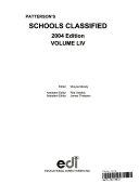 Patterson s Schools Classified 2004