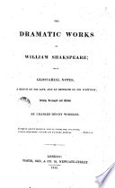 The Dramatio Works of W  Shakespeare