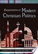 Encyclopedia of Modern Christian Politics  L Z
