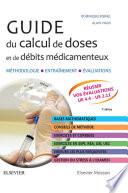 illustration Guide du calcul de doses et de débits médicamenteux