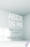 Book Abide In Me