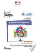L'entrepreneuriat social en France Réflexions et bonnes pratiques
