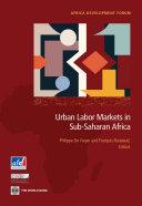 download ebook urban labor markets in sub-saharan africa pdf epub