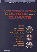 the international handbook of organizational culture and climate