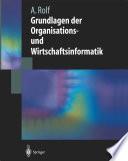 Grundlagen der Organisations-und Wirtschaftsinformatik