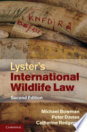 Lyster s International Wildlife Law