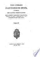Viage literario á las iglesias de España: Segorbe. Xátiva y Peñiscola. 1806