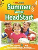 Summer Learning HeadStart  Grade 3 To 4