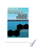 Medical Therapy and Health Maintenance for Transgender Men: A Guide For Health Care Providers