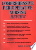 Comprehensive Perioperative Nursing Review