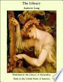 Ebook The Library Epub Andrew Lang Apps Read Mobile