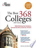 The Best 368 Colleges 2009