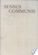 Sensus communis