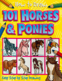 How to Draw 101 Horses   Ponies