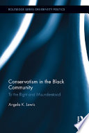 Conservatism in the Black Community Book PDF
