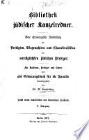 Bibliothek jüdischer Kanzelredner