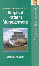The Cleveland Clinic Guide to Surgical Patient Management