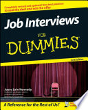Job Interviews For Dummies