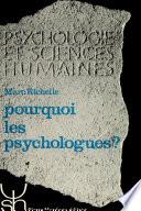 illustration Pourquoi les psychologues?