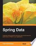 Spring Data Standard Guide