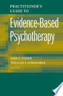 Practitioner s Guide to Evidence Based Psychotherapy