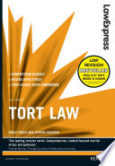 Law Express  Tort Law  Revision Guide