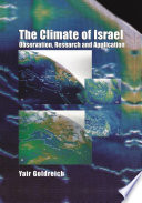 The Climate of Israel