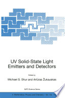 UV Solid State Light Emitters and Detectors